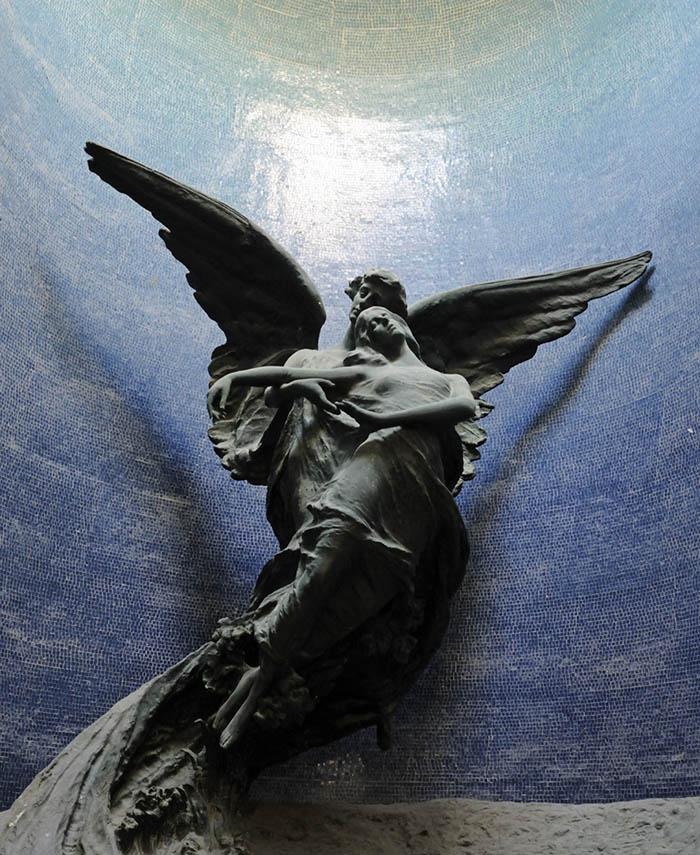 Pasquale Rizzoli (1871-1953), Cella Magnani, 1906. Cimitero della Certosa, Galleria del Chiostro VI