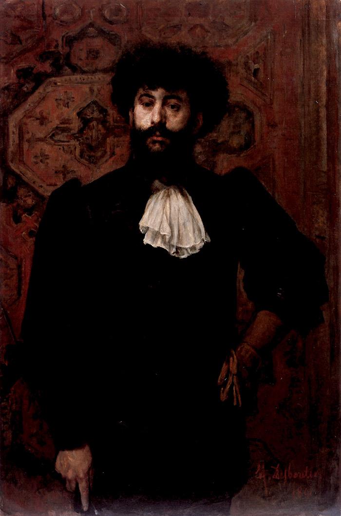 Marcellin Desboutin, Ritratto di Joséphin Péladan