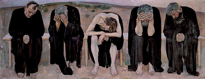 Ferdinand Hodler, Gli stanchi di vivere