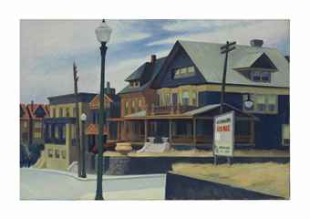 Edwar Hopper, East Wind over Weehawken, l'opera battuta al'asta da Christie's