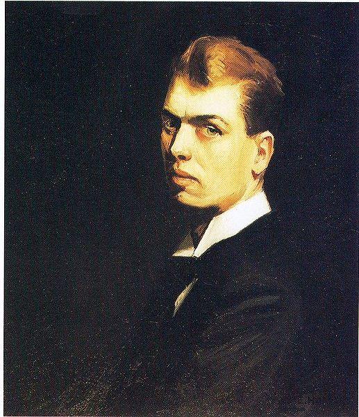 Edward Hopper, Autoritratto