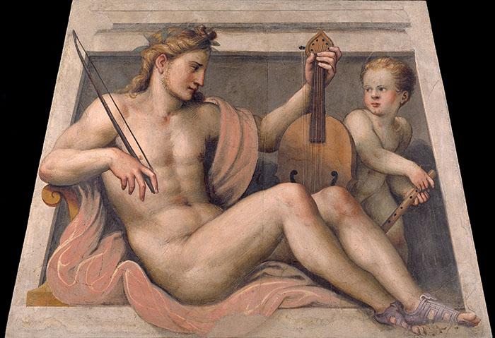 Lattanzio Gambara, Apollo, Brescia