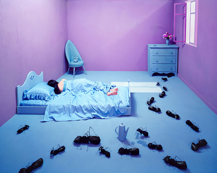 Oversleeping Foto di Jee Young Lee, Courtesy Opiom Gallery
