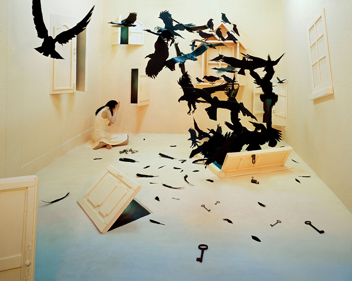 Black Birds Foto di Jee Young Lee, Courtesy Opiom Gallery