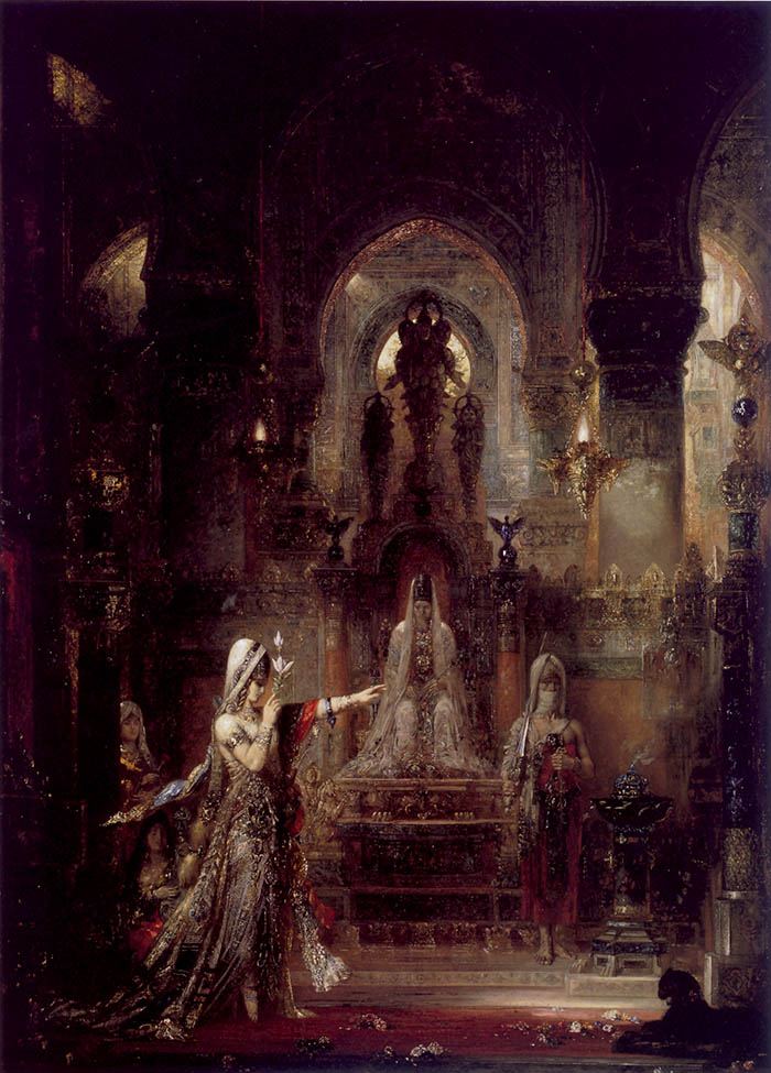 Gustave Moreau, Salomé che danza davanti a Erode