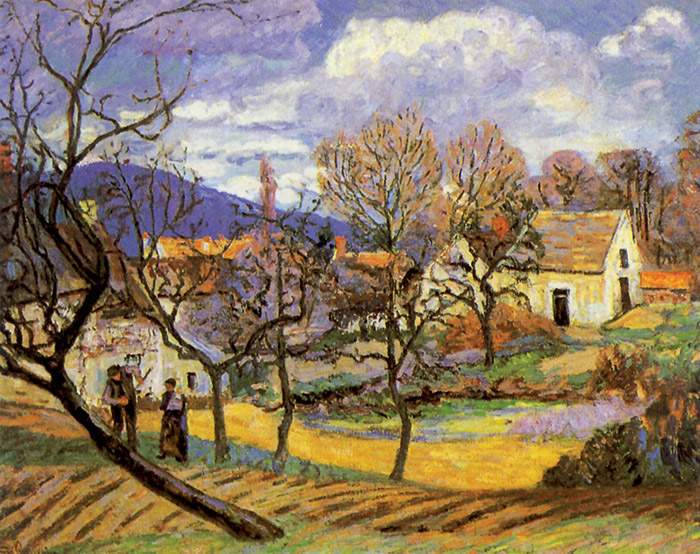 Guillaumin, Paesaggio in Normandia: meli, 1887