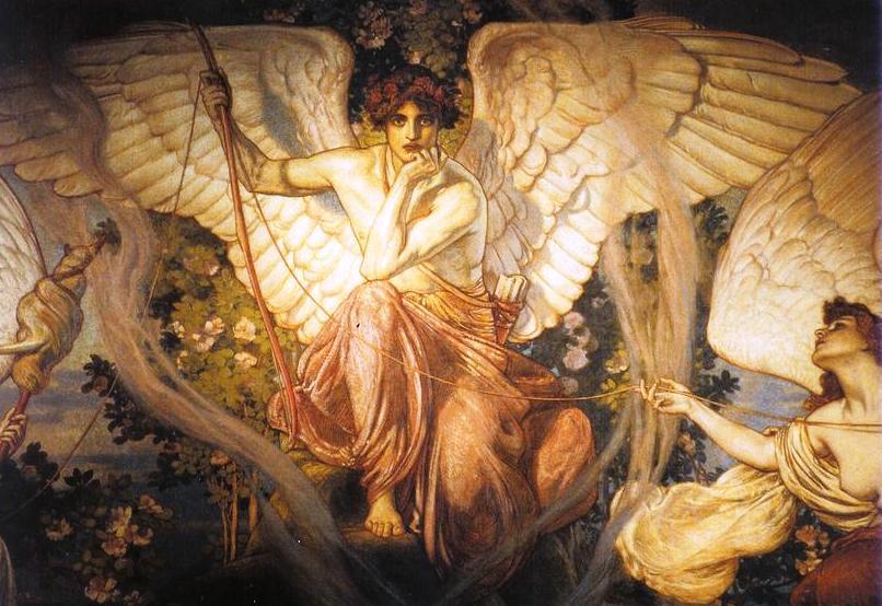 Alla nostra destra, Lachesi, nel dipinto di Kronberg
