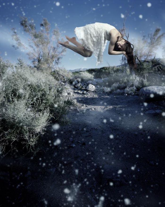 Anna Paola Pizzocaro, Farsi cullare dai fiocchi di neve nel superbo silenzio