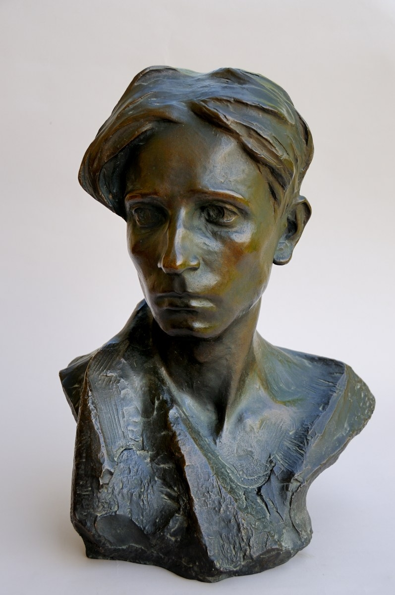 Giorgio Rossi, Autoritratto, 1920 circa, bronzo