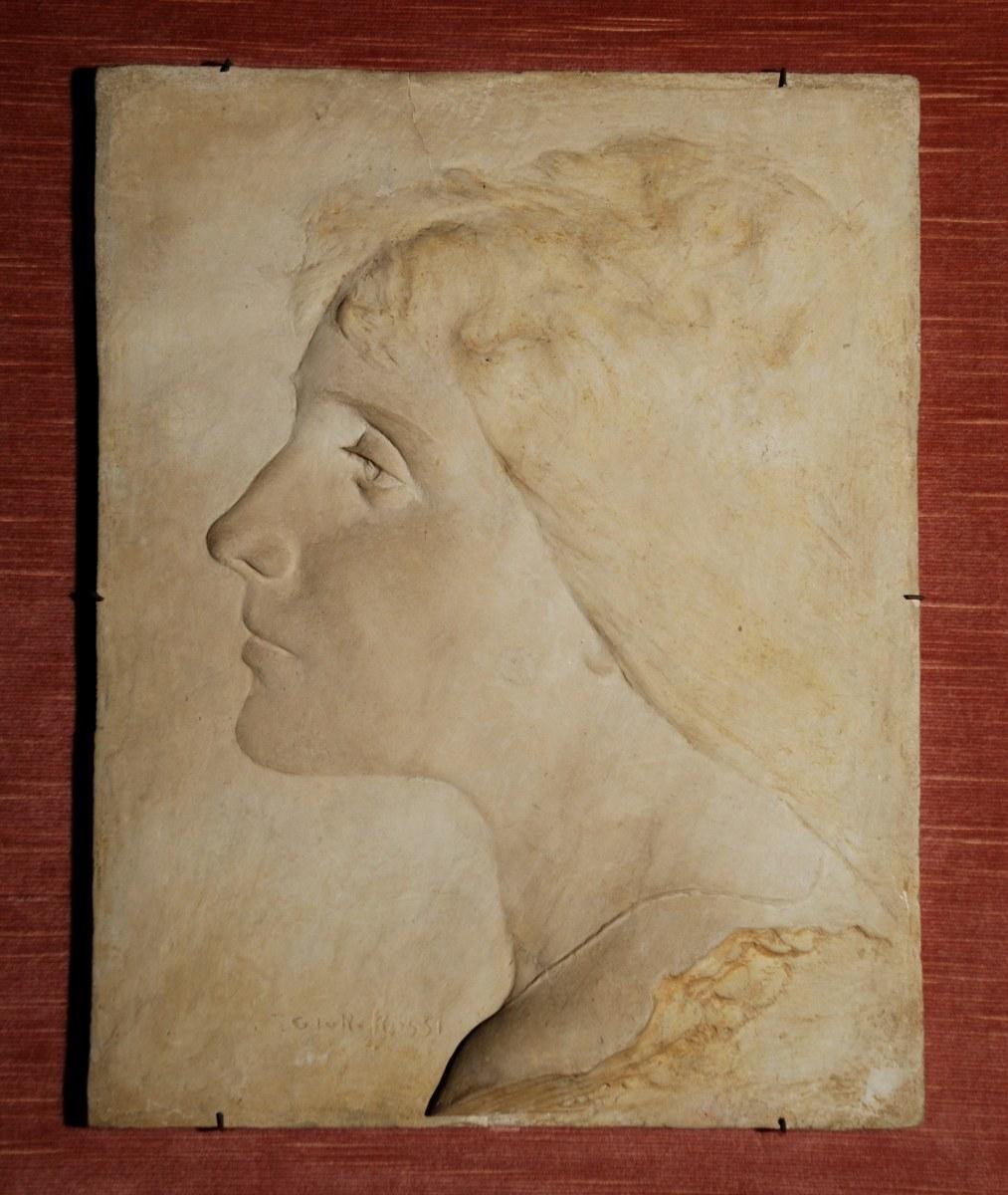 Giorgfio Rossi, Ritratto della moglie Pia, gesso