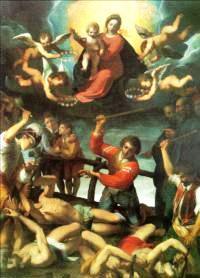 Jacopo Giacomo Ligozzi, Il Martirio dei Santi Coronati, 1596