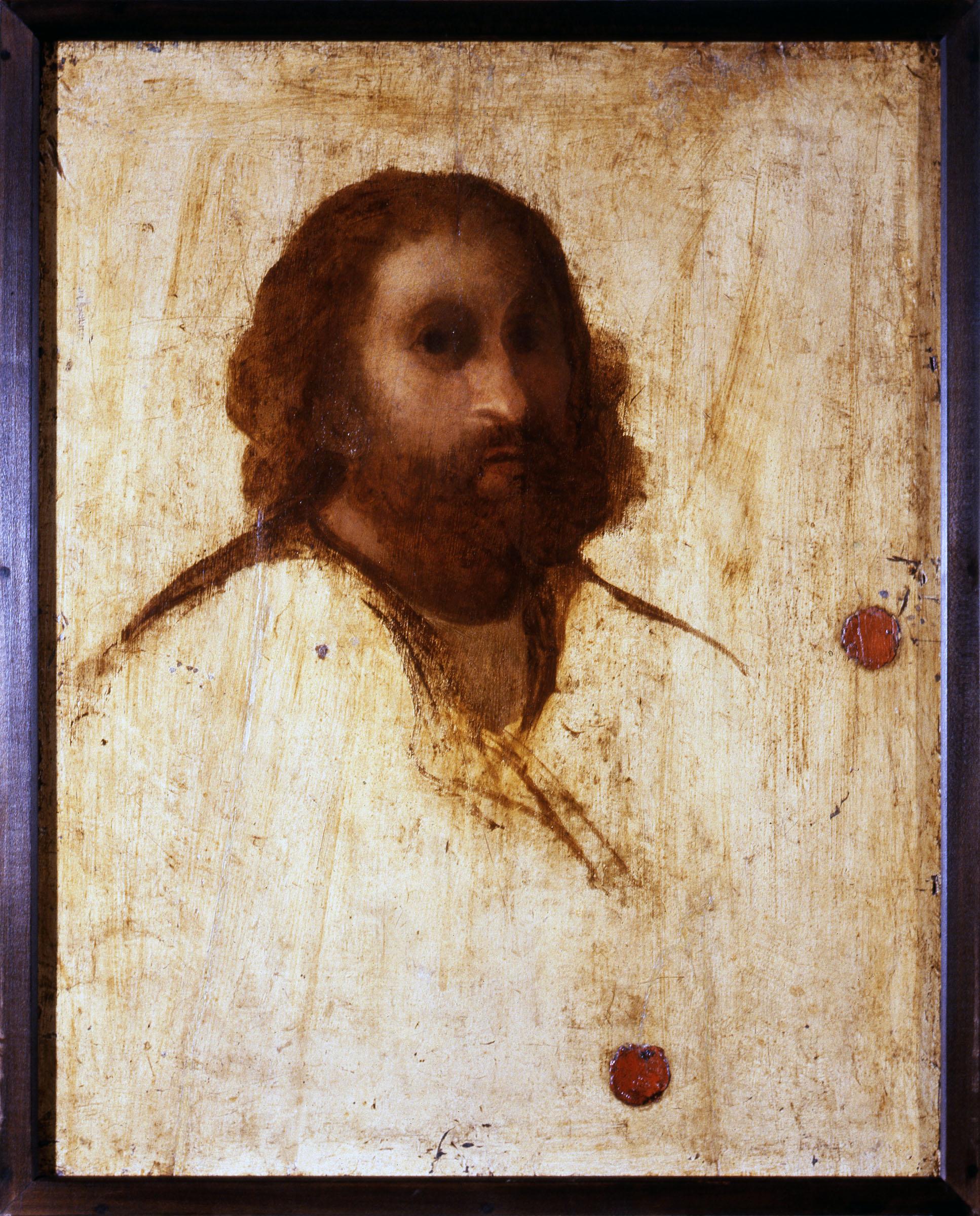 JACOPO PALMA IL VECCHIO (Serina 1480 - Venezia 1528); Verso: Autoritratto? 1515 circa Inv. 1890 n. 10094 Olio su tavola s.c. 67 x 54 cm c.c. 70 x 56,5 cm Galleria degli Uffizi