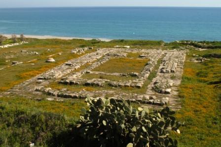 L'area del tempio di Caulonia antica