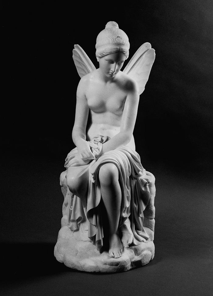 Giovanni Cappelli, Psiche abbandonata, marmo, 1846, Galleria Estense, Modena