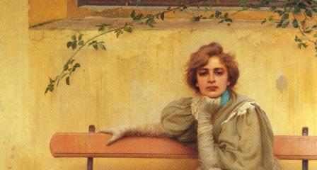 51 Vittorio Matteo Corcos - Sogni - 1896 - Roma Galleria arte Moderna (1)