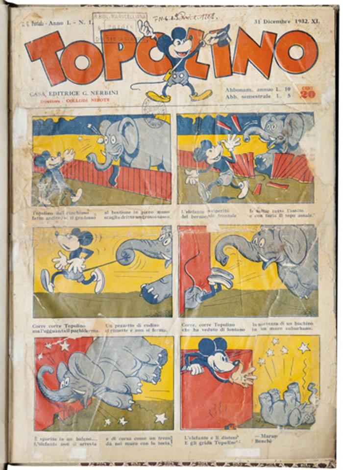 TOPOLINO – A.1 n. 1 (31 dicembre 1932)