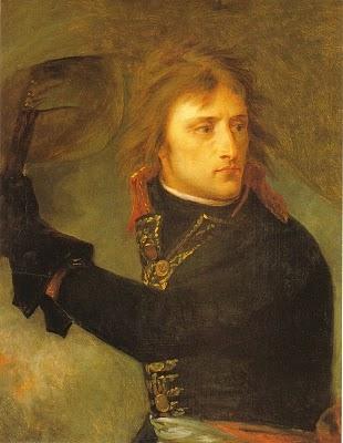 A.J.GROS, Bonaparte ad Arcole, 1796, olio su tela, cm 73 x 59, Parigi, Museo del Louvre