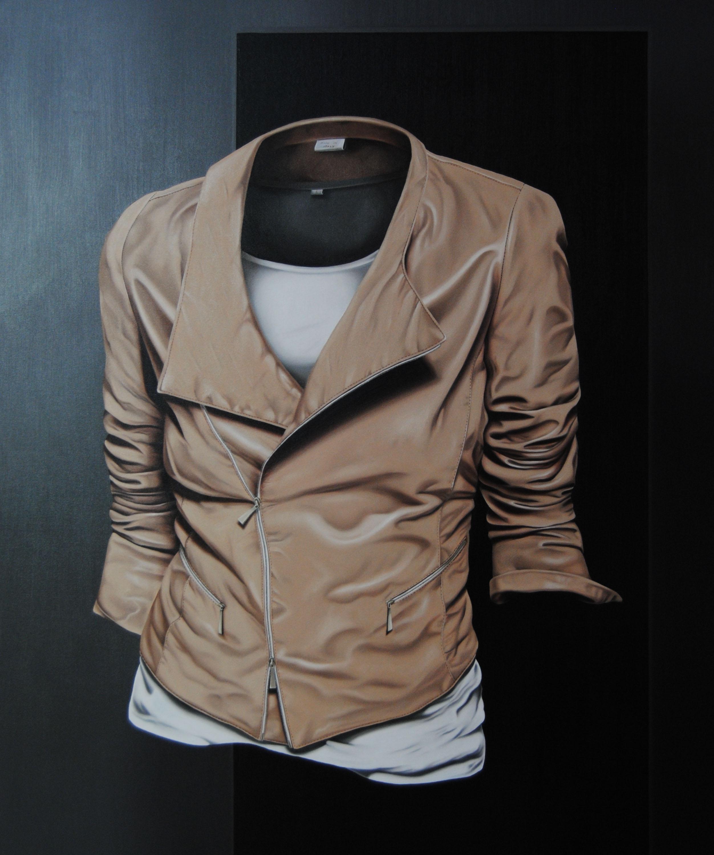 M. FASOLI, On my skin, 2013, olio su tela, cm 100 x 120