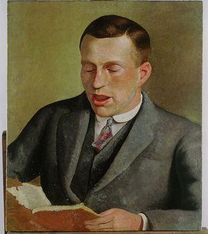 Carlo Levi è autore di questo ritratto del fratello