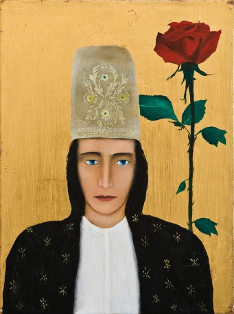 Franco Battiato, Donna con rosa, 1999
