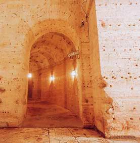 Castel Sant'Angelo, accesso alla rampa elicoidale