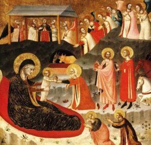 L'Adorazione dei Magi è un dipinto a tempera su tavola (57.8 x 59.4 cm) di Francesco da Rimini, conosciuto anche come Master of the Blessed Clare of Rimini, databile intorno al 1340 circa e conservato al Lowe Art Museum a Coral Gables, nella contea di Miami-Dade