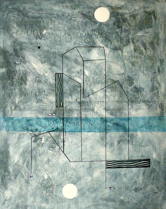 Franco Rinaldi, Nel paesaggio del sogno, 2013