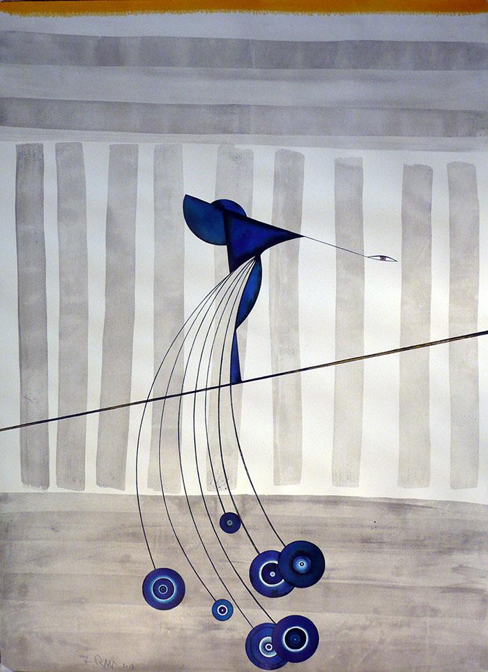 Franco Rinaldi, Nella voliera dei sogni, 2013