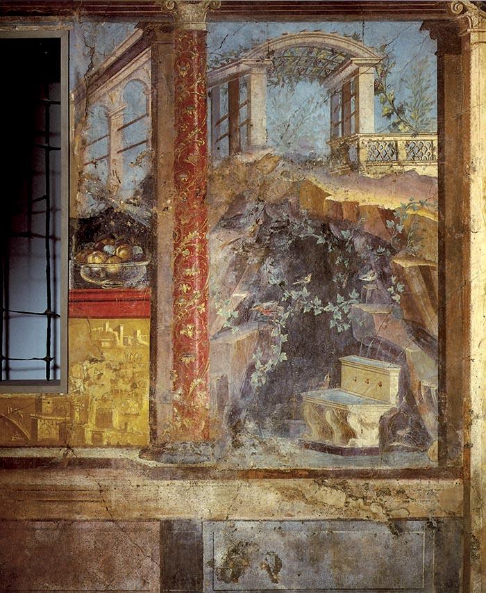 Straordinaria pittura romana capire gli stili di duemila for Design in stile romano