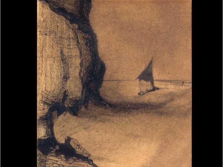 Un disegno di Victor Hugo
