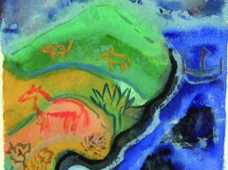 Acquerello di Henry Miller