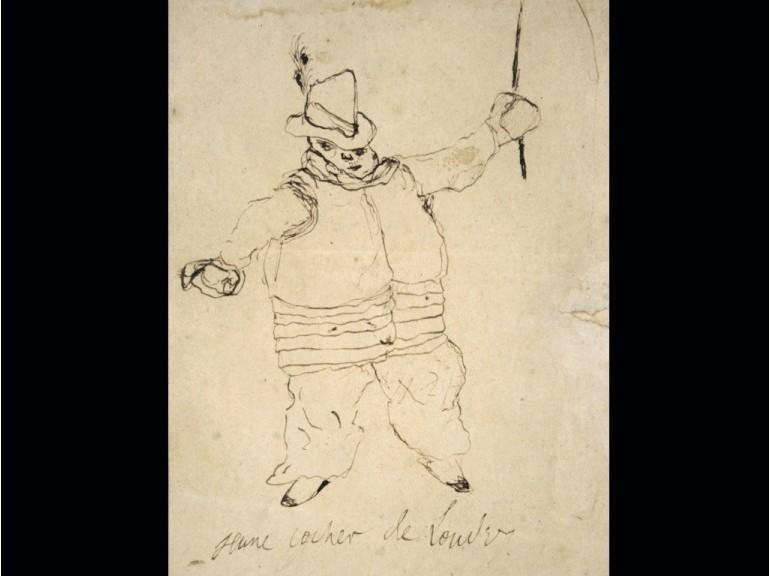Disegno di Arthur Rimbaud