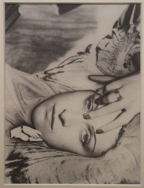 Man Ray Portrait de Dora Maar (solarisation), 1936 Gelatina al bromuro d'argento, solarizzazione, cm 28,7x21,6 Parigi, Collezione J -P. Godeaut Photo credit: Xavier Grandsart