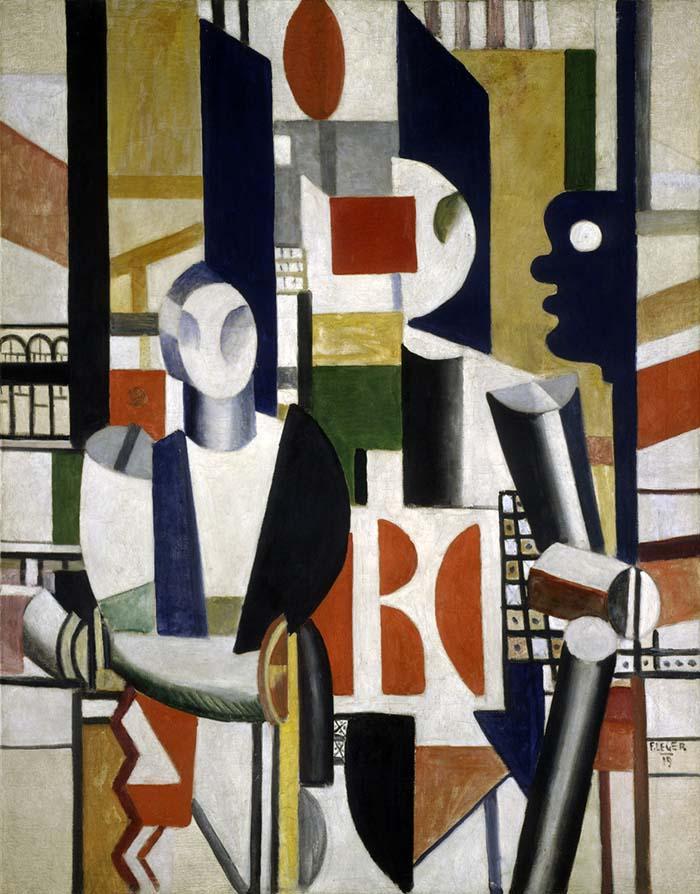 Fernand Léger Men in the City, 1919 olio su tela cm 145,50 x 113,50 Collezione Peggy Guggenheim, Venezia (Solomon R. Guggenheim Foundation, NY) © Fernand Léger by SIAE 2014