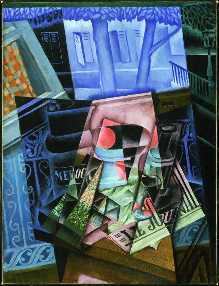 Juan Gris (José Victoriano Gonzàlez Pérez) Still Life before an Open Window, Place Ravignan, 1915 olio su tela cm 115,90 x 88,90 Philadelphia Museum of Art, The Louise and Walter Arensberg Collection, 1950