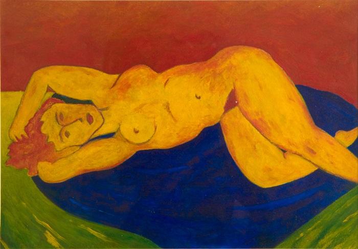 Enzo Forese, 16x24 st olio su carta