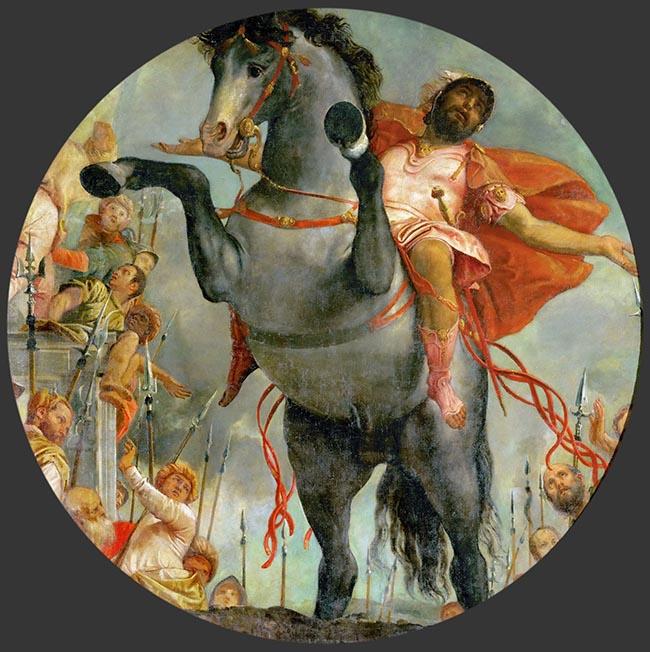 Paolo Veronese, Marco Curzio, Vienna, Kunsthistorisches Museum