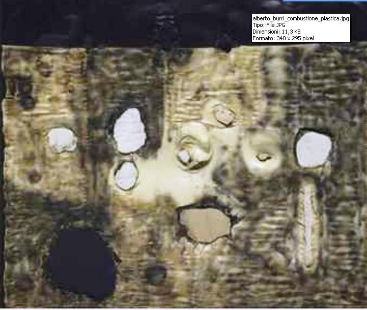 Combustione plastica, l'opera di Alberto Burri oggetto del record d'asta per l'artista