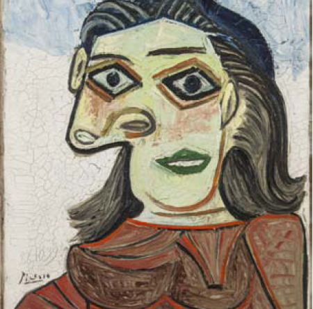 Pablo Picasso Tête de Femme (Dora Maar), 1939 Olio su tela, cm 65x54 Artemundi Group, courtesy of Javier Lumbreras Photo credit: Jorge Parra