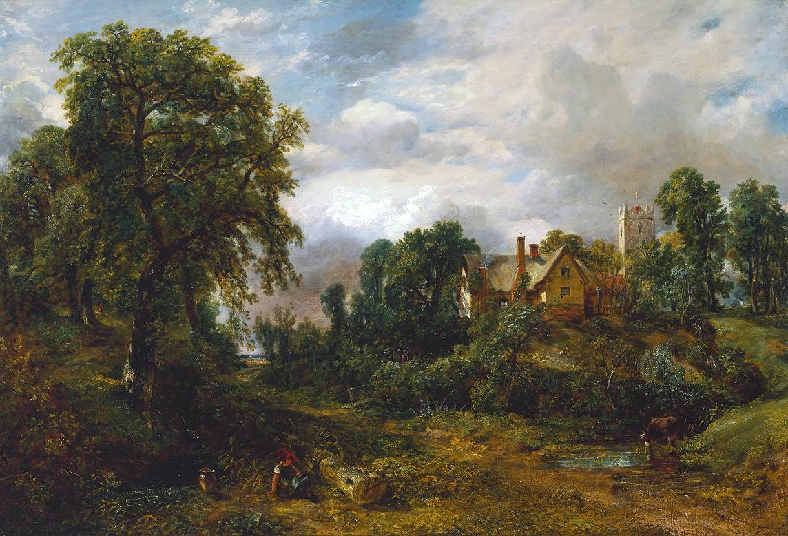 John Constable - The Glebe Farm