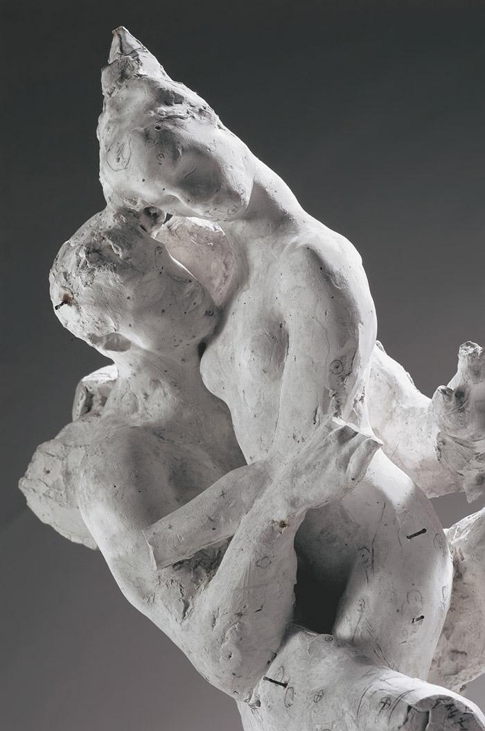 Auguste Rodin, Psiche e Amore gesso 1907-1908? © Musée Rodin, Parigi. Foto di Christian Baraja