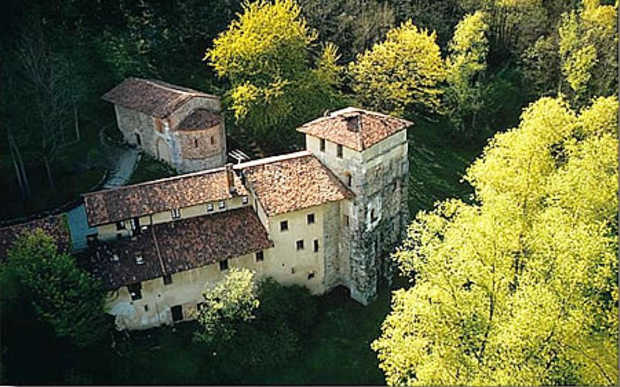 Il castello longobardo di Castel Seprio Torba