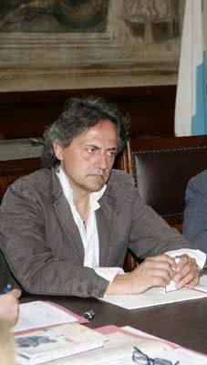 Bernardelli Curuz a palazzo Loggia, sede municipale di Brescia