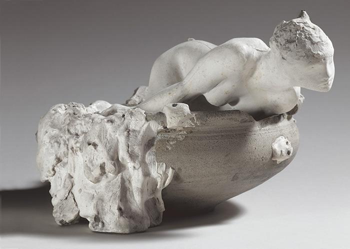 Auguste Rodin, La piccola fata delle acque, Maquette 1903 © Musée Rodin, Parigi. Foto di Christian Baraja
