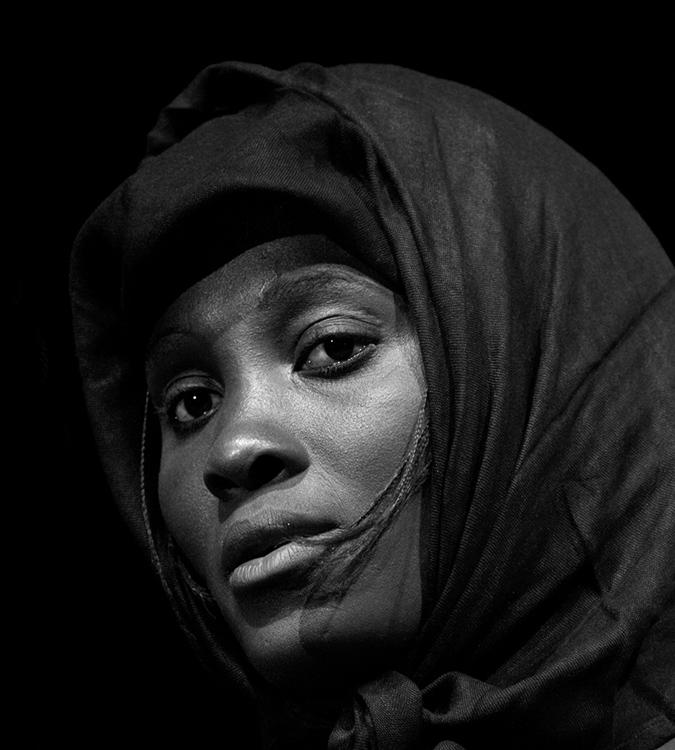 """Monna Lisa di Mali"" di Heinz Homat"