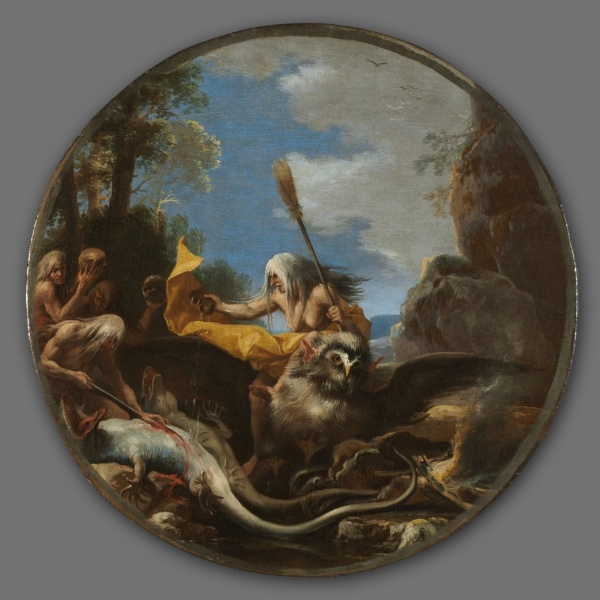 Scene with Witches: Day, 1645-1649. The Cleveland museum of Art.