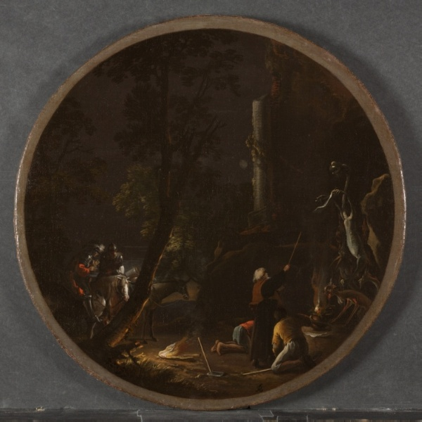 Scene with Witches: Night, 1645-1649. The Cleveland museum of Art.