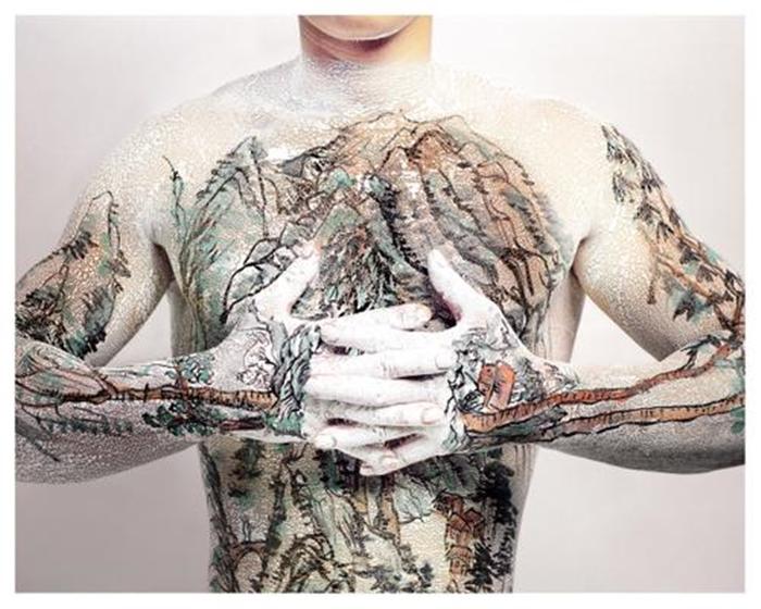 Huang Yan - Shangshui Tattoo Series 1