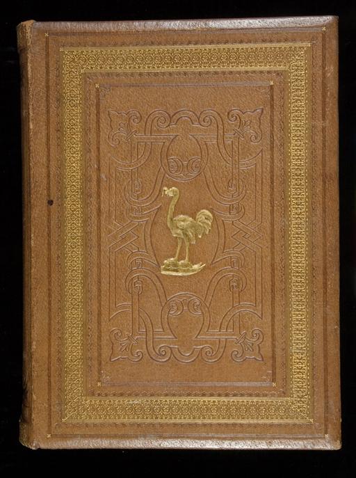 16.Thomas Dempster De Etruria Regali libri septem Piatto anteriore del manoscritto (HOL.MS 501) XVII secolo Manoscritto Norfolk, Holkham Hall