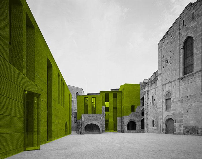 Massimo Carmassi, Ricostruzione di San Michele in Borgo, Pisa 2001 © Carmassi Studio di Architettura